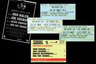 Top 5 – Mærkelige koncertbilletter